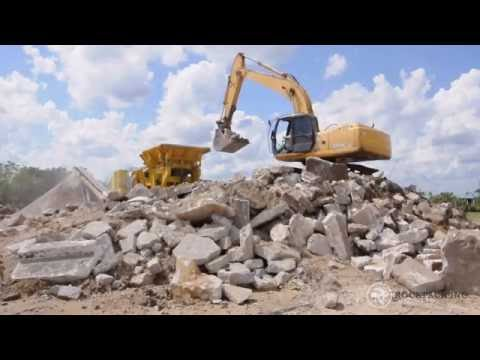 Concrete Crushing and Recycling