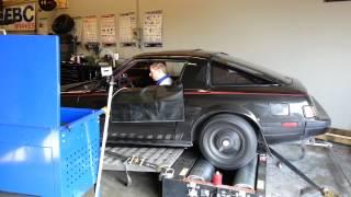NA 13b FB Mazda RX7 Dyno test