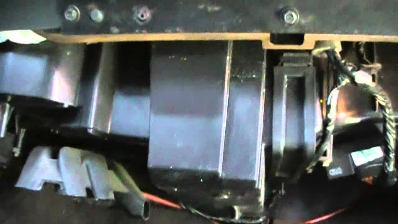 Changing cabin air filter in 2 Chevy Silverado's - YouTube