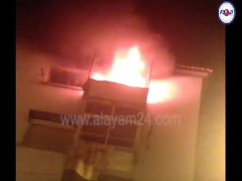 انفجار دار بإقامة الشعبي بالحي المحمدي بسبب