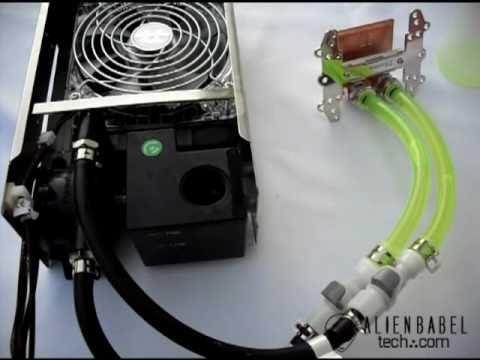 ThermalTake BigWater 760is - Filling The Loop