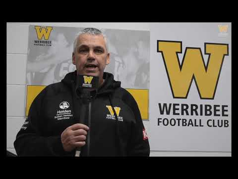 Mark Williams: Round 16 post-game (Werribee vs Port Melbourne)
