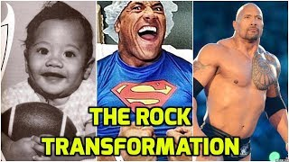 The Rock | Dwayne Johnson | Transformation From 1 to 46 Years Old | Life Story | Biography | WWE