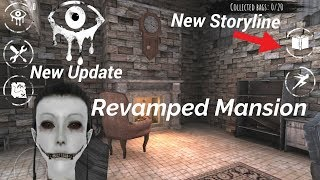 New Storyline and Revamped Mansion in Eyes The Horror Game(New Update)
