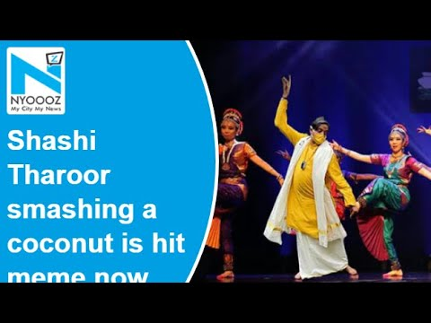 Shashi Tharoor smashing a coconut is a hit meme now, he picks his three favourites