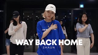 숀 (SHAUN) - Way Back Home / Very Choreography