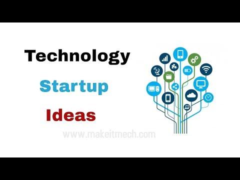 Technology Startup Ideas