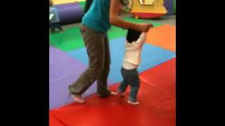 Andy dancing at gymboree