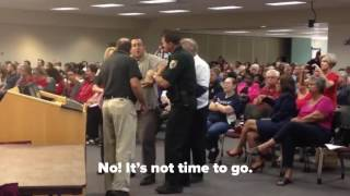Florida Man gets ejected from school board meeting for private parts non-sequitur