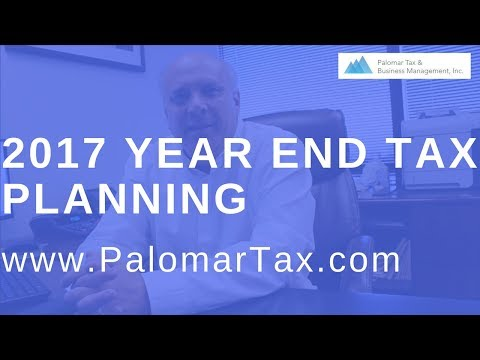 2017 Tax Preparation Advice - Small Business Bookkeeping San Diego