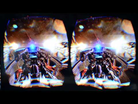 E3 2014: Eve Valkyrie UE4 Gameplay on Oculus Rift