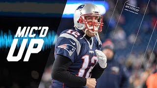 Texans vs. Patriots Divisional Round Mic'd Up Highlights | NFL Films | Sound FX