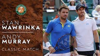 RG Classics - Andy Murray vs Stan Wawrinka - 2017 | Roland Garros