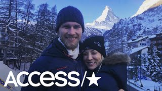 Kaley Cuoco & Husband Karl Cook Honeymoon In The Swiss Alps More Than 5 Months After Their Wedding