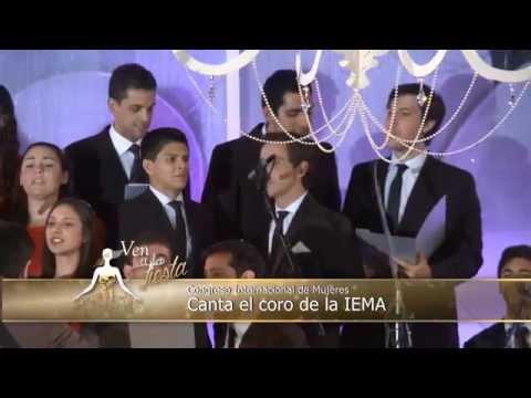 Recital del coro de la IEMA en el congreso