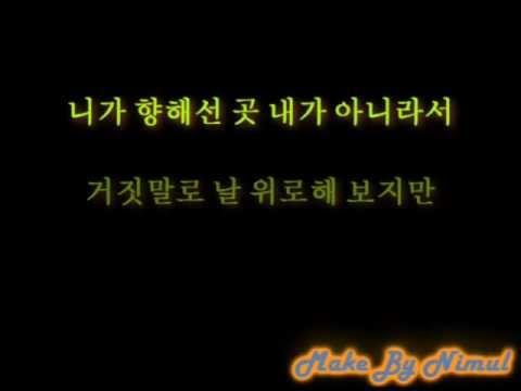 Somthing Happened to my heart lyrics korean