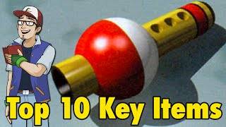 Top 10 Pokemon Key Items