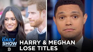 Harry & Meghan Shed Titles, Harvey Weinstein Convicted & Coronavirus Goes to Italy | The Daily Show