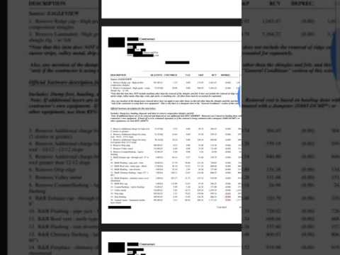 What's Wrong With This Insurance Estimate? How to Get O&P   01