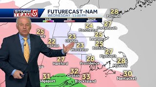Video: Significant snow should start to move into Mass.