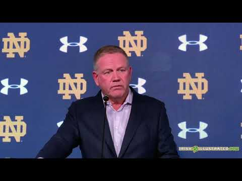 Brian Kelly with his key takeaways from Notre Dame's 21 20 win over Virginia Tech