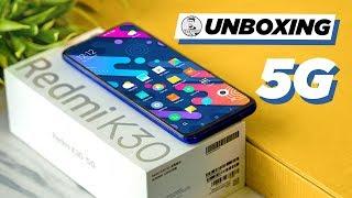 Redmi K30 5G (Snapdragon 765) - Unboxing & Hands On
