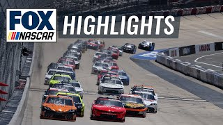 NASCAR Xfinity Series Drydene 200 | NASCAR ON FOX HIGHLIGHTS