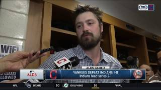 Andrew Miller reacts to giving up rare home run to Greg Bird   Indians vs. Yankees   ALDS GAME 3
