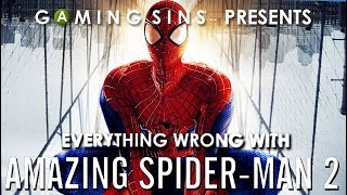 Everything Wrong With Amazing Spider-Man 2 in 16 Minutes or Less   GamingSins