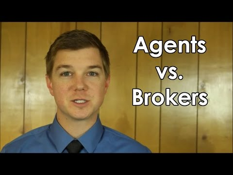 Differences Between Real Estate Agents & Brokers
