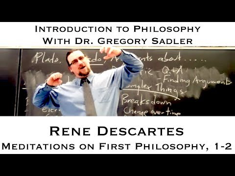 Locating the cogito argument in meditations by rene descartes
