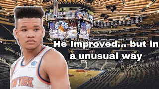Kevin Knox Actually Improved