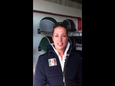 Charlotte Dujardin Supports International Helmet Awareness Day