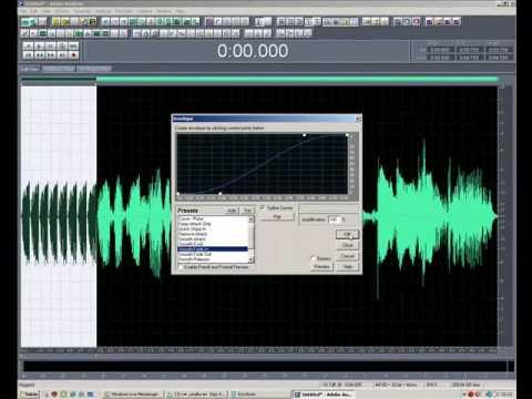 adobe audition como ponerle efectos a las voces parte 1