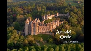 Arundel Castle Gardens -  Tulip Festival 2019