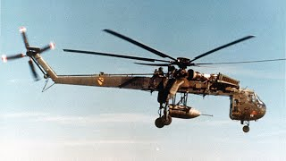 How to Carry The Most Powerful Conventional Weapon of the Vietnam War - Sikorsky CH-54 Tarhe