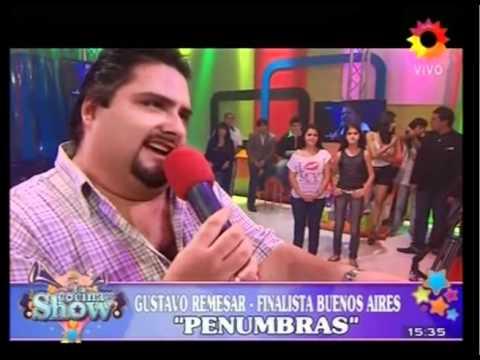 Gustavo Remesar en La cocina del show Penumbras