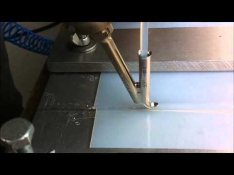 Symalit pfa welding with herz weldon hotair welder for Poolfolie kleben