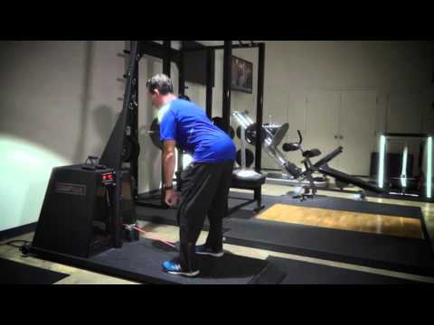 VersaPulley -- Flywheel Training squat variations with trainer Jacques DeVore.