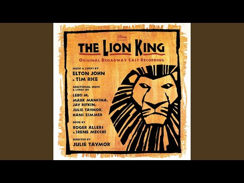 "Be Prepared (From ""The Lion King""/Original Broadway Cast Recording)"