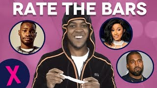 Chip Plays A Hilarious Game Of 'Rate The Bars'