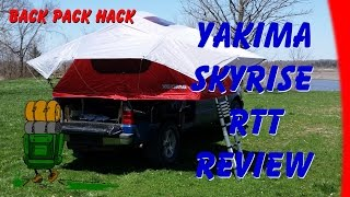 Yakima Skyrise (Medium) RTT Roof Top Rooftop Tent Review