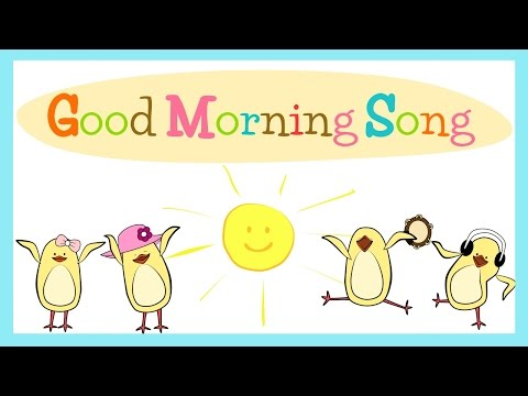 Good Morning Song for Kids (with lyrics) | The Singing ...
