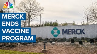Merck ends Covid vaccine program but continues work on treatments