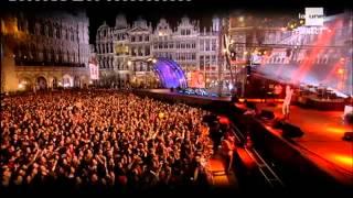 Stromae Live Bruxelles,Grande Place -27 septembre 2013