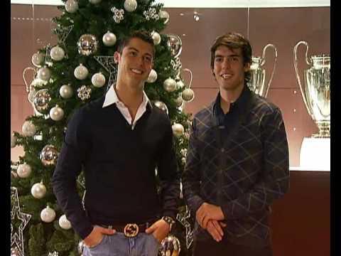 Cristiano Ronaldo and Kaká, Merry Christmas