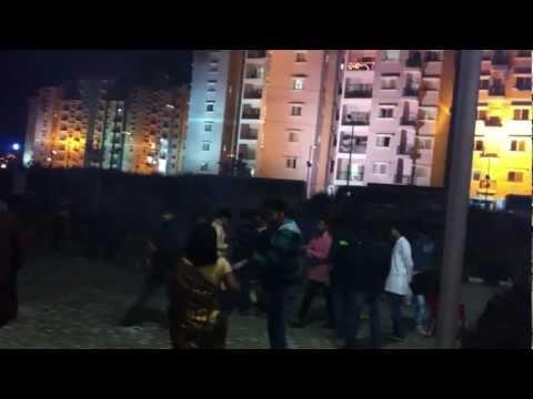 Diwali night at IIM Ranchi hostel
