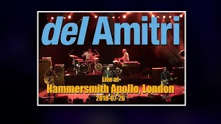 Del Amitri - 2018-07-26 Hammersmith Apollo, London, UK