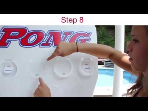 Vert Pong - How To Put Together