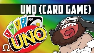 JIGGLY'S ABOUT TO LOSE HIS MIND! (7-0 RULE!) | Uno Card Game #43 Funny Moments